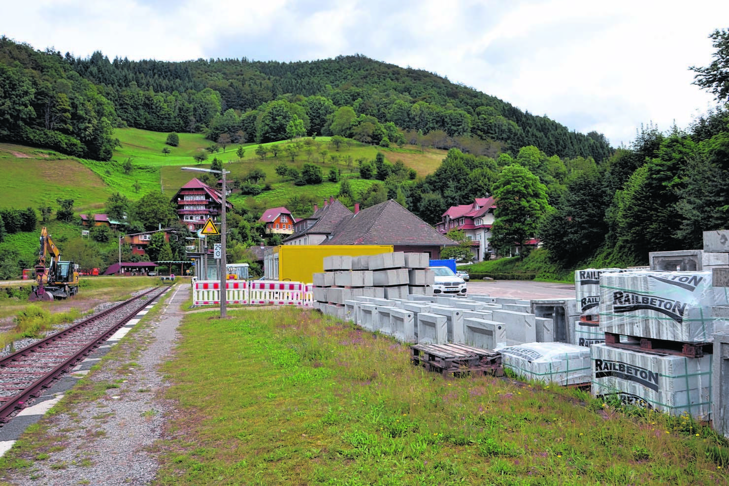 Achern Oberkirch Bad Peterstal Griesbach Bahn Lässt Bahnsteige In