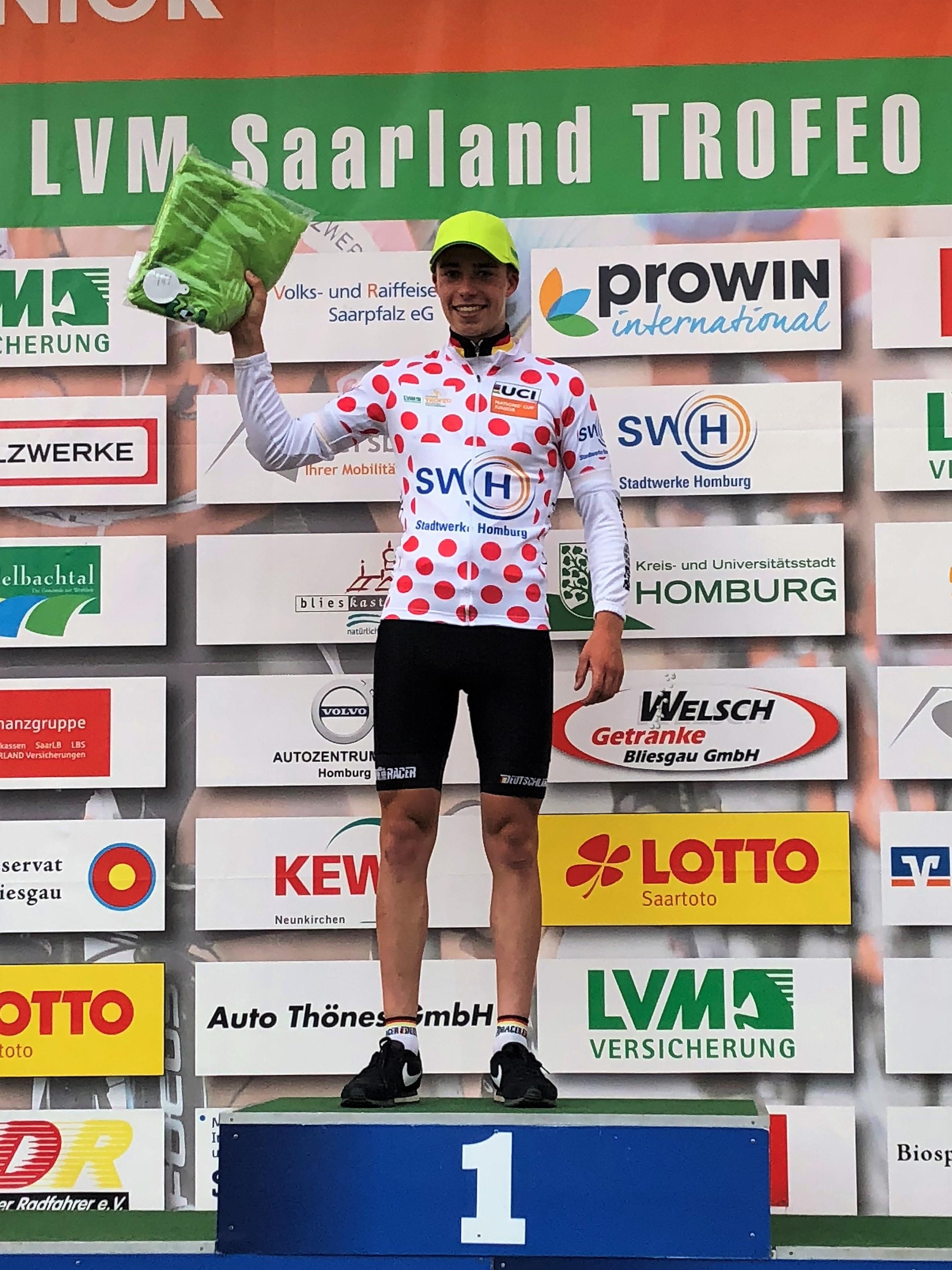 Lokalsport Radsport Ohlsbacher Pirmin Benz bester deutscher Fahrer ...
