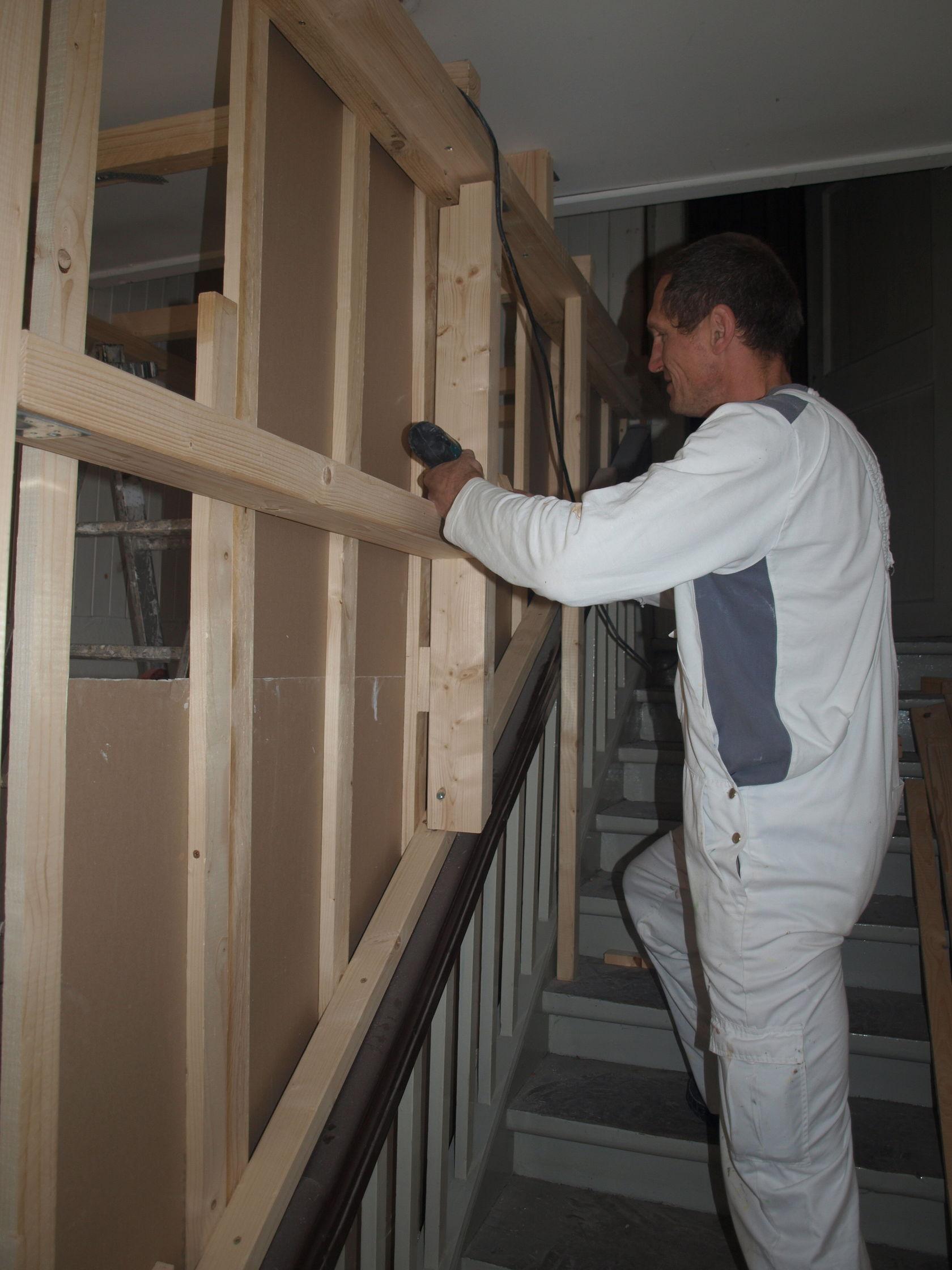 lahr jetzt ist das treppenhaus dran nachrichten der ortenau offenburger tageblatt. Black Bedroom Furniture Sets. Home Design Ideas