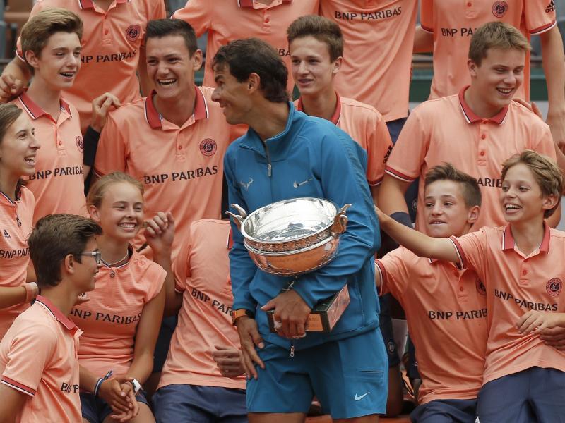 Sport Tennis Nadal Denke Nicht An 20 Grand Slam Titel Von Federer