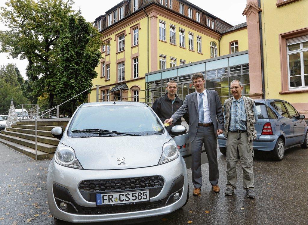 Offenburg Stadt und Bürger teilen sich einen Wagen Nachrichten der ...