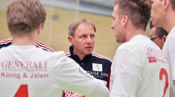 FBC-Trainer Stefan Müncheberg hat mit seiner Mannschaft das Ziel Klassenerhalt ausgegeben.