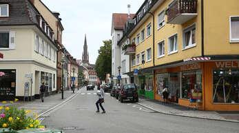 Die Lange Straße soll im Zuge einer Umgestaltung zur verkehrsberuhigten Flaniermeile werden.