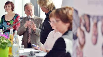 BI-Chef Manfred Wahl erinnerte beim Workshop Bürgerforum an den Kampf, die Stadtverwaltung und den Gemeinderat von der Tunnellösung zu überzeugen.