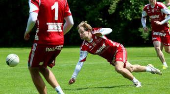 Einsatz ist gefragt, wenn Thomas Häusler mit dem FBC Offenburg morgen den TSV Pfungstadt empfängt.