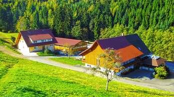 Um die Zufahrt zu abgelegenen Gehöften zu verbessern, nimmt die Stadt Oberkirch viel Geld in die Hand. Unser Symbolfoto zeigt den Ödsbacher Hengsthof.