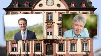 Marco Steffens (links) und Harald Rau wollen Offenburgs Oberbürgermeister werden.