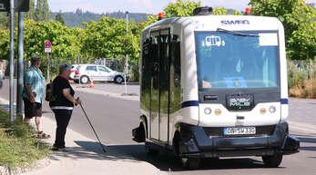 Start- und Zielpunkt der einen Kilometer kurzen Rundstrecke ist die Haltestelle »Bürgerpark Landesgartenschau« im Mauerweg, gegenüber dem dort gelegenen Eingang zur Landesgartenschau in Lahr. Wer eine Tageseintrittskarte oder ein gültiges TGO-Ticket besitzt, kann den autonomen Kleinbus kostenlos nutzen.