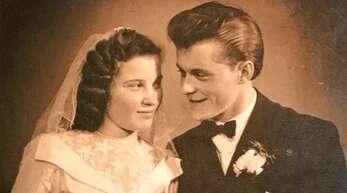 Vor 65 Jahren begann der Tanz ins Eheglück für Liselotte und Fritz Oeschger aus Achern.