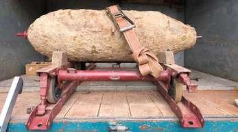 Vergangenen Mittwoch war diese 250-Kilio-Bombe in Lahr entschärft worden.