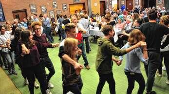 Buntes Programm: Die Waliser feierten mit ihren Gästen aus Oberkirch.