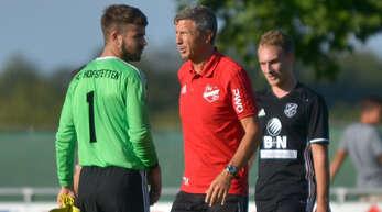 Abgang: Thomas Heilmann (Mitte) war nur elf Landesliga-Spiele Trainer des SV Stadelhofen.