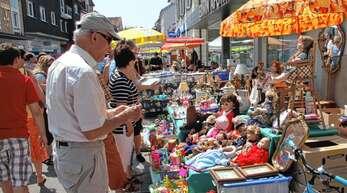 Künftig sollen Flohmärkte sonntags in der Von-Drais-Straße stattfinden – zum Unmut einiger Mitglieder von »Achern aktiv«.