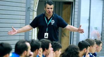 Trainer Dragi Paunovic war nicht dazuzu bewegen, seinen Vertrag beim TuS Helmlingen bis zum Saisonende zu erfüllen.