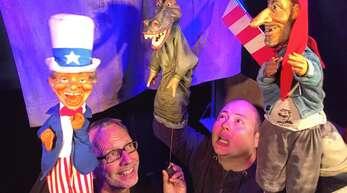 Puppenspiel für Groß und Klein bietet die Puppenparade Ortenau 2019. Unter den Akteuren ist das Marotte Figurentheater.