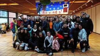 Gastschüler aus Spanien waren zu Gast bei Acherner Gymnasiasten.