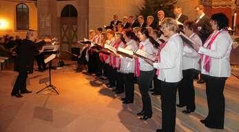 Ein eindrucksvolles Konzert bestritt am Samstagabend der von Irina Helm geleitete Rheinbischofsheimer Kirchenchor.