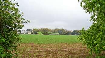 Auf dem Areal Brachfeld zwischen Gymnasium und Tennishalle soll bis 2030 das neue Ortenau Klinikum Achern gebaut werden.