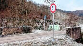 Die Brücke am Giedensbach 1 ist eines der Sorgenkinder des Ödsbacher Ortschaftsrats.