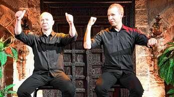 Immer wieder herzhaftes Lachen lösten Helge Thun (rechts) und Udo Zepetauer als »Helge und das Udo« bei ihrer Comedy im »Vaya Casa« aus.