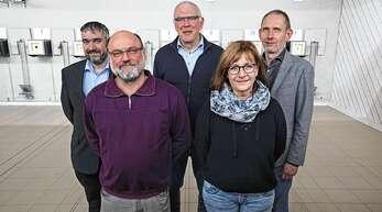 Der neue Vorstand des Schützenvereins Oberkirch: Daniel Fellner (Sportwart), Georg Burgbacher (Vorsitzender), Karl-Walter Huber (stellvertretender Vorsitzender), Roswitha Schweiß (Schriftführerin), Eberhard Merx (Kassenwart, von links).