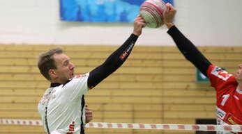 Der verletzte Sven Muckle ist wohl auch beim Saisonfinale des FBC gegen Pfungstadt zum Zuschauen verdammt.