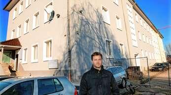 Der Offenburger Unternehmer Daniel Lieser möchte in der Eckenerstraße ein Apartment-Hotel und ein Pfandleihhaus eröffnen. Allerdings beklagt er die noch fehlende Baugenehmigung.