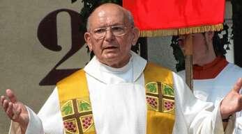 Pfarrer Otto Doll aus Oppenau starb im Alter von 86 Jahren, 30 Jahre wirkte er in Rastatt.