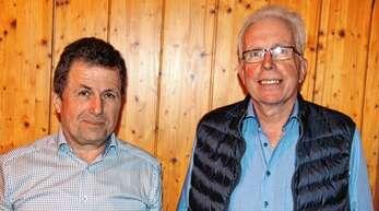 Karl Gieringer (links) und Heinrich Danner stehen ein weiteres Jahr an der Spitze der Forstbetriebsgemeinschaft Vorderes Renchtal.