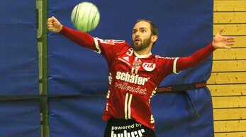 Oliver Späth musste sich mit dem FBC seinem ehemaligen Verein TSV Pfungstadt geschlagen geben.