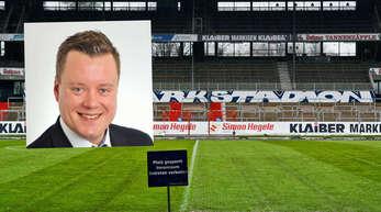 Der 33-jährige Offenburger Marc Wittmeier ist seit seinem 10. Lebensjahr Fan des Karlsruher SC.