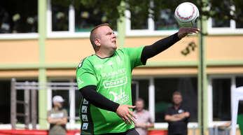 Manuel Itt von der FG Griesheim musste der Hitze beim Saisonfinale Tribut zollen.