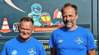 Günter Lutz (links) und Ralf Koller sind beim MSC Hornisgrinde leidenschaftliche Jugendleiter. Sie führen Jugendliche an den Motorsport heran.
