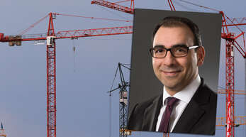 Der Bauexperte Shervin Haghsheno ist Professor am Karlsruher Institut für Technologie (KIT).