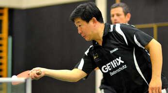 Der chinesische Ex-Nationalspieler Li Shi Dong spielt erneut in der ersten Mannschaft von Hohberg.