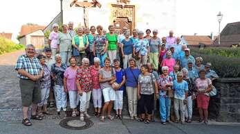 Nußbacher und Bottenauer Senioren besuchten die Pestkapelle in Bötzingen.