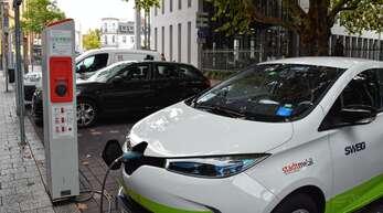 Die Ladesäulen für E-Autos im Ortenaukreis werden unterschiedlich stark nachgefragt.