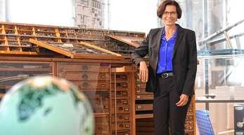 Christine Buchheit (51) wählt als Treffpunkt das Stadtmuseum.
