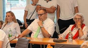 Guido Schöneboom, Erster Bürgermeister der Stadt, zeigte sich am Wahlabend nicht zufrieden mit seinen 19,52 Prozent.
