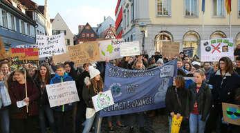 Seit Monaten demonstrieren Schüler auch in Offenburg für besseren Klimaschutz. Am Freitag sind auch Berufstätige zur Teilnahme aufgerufen.