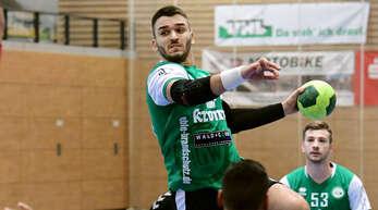 Strahinja Vucetic zeigte eine starke Leistung beim Auftaktsieg des HGW Hofweier.