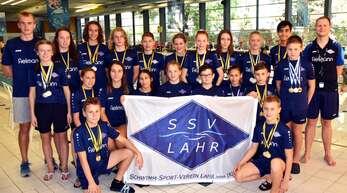 Das Lahrer Schwimm-Team wusste in Lörrach zu überzeugen.