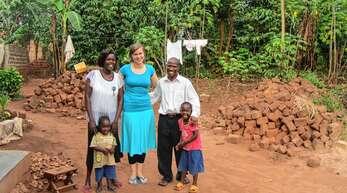 """Marina Wagaba zog von Ödsbach nach Uganda. Dort gründete sie mit ihrem Mann das KInderhilfsprojekt """"Havilah Mission Africa"""""""