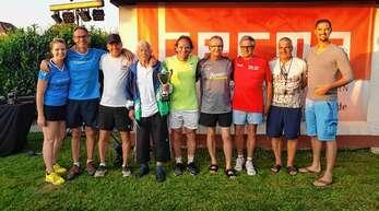 Spannende Spiele gab es beim Berma-Cup des TC Fautenbach, das die Laufer Saufüssle gewannen.