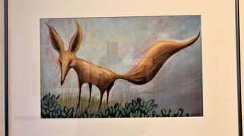 """So sieht die Künstlerin Valeria Docampo den gezähmten Fuchs des """"kleinen Prinzen""""."""