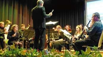 Die Musikkapelle Kuhbach unter der Leitung von Igor Guitbout bekam viel Beifall für ihre Leistung beim Jahreskonzert.