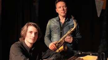 Lucas Leidinger (links) und Daniel Daemen überzeugten bei ihrem Auftritt in Lahr.