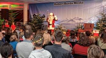 Alle Jahre wieder ist es das schönste Burda-Event im Dezember die Nikolausfeier.