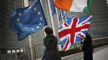 Vor den Unterhauswahlen am Donnerstag in Großbritannien bewegt ein Thema weiter die Gemüter: der Brexit. Foto:AP/Francisco Seco