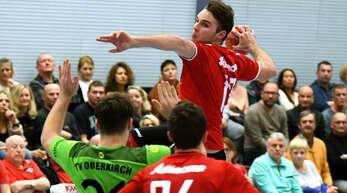 Marvin Schilling feierte am Freitag gegen Oberkirch sein Comeback.